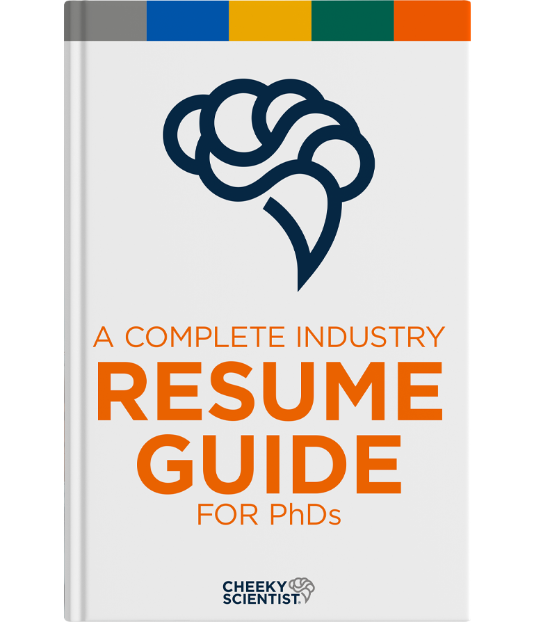 Industry Resume Guide for PhDs